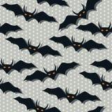 Scarry bat pattern Royalty Free Stock Photo