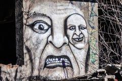Scarry graffiti Obraz Royalty Free