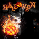 Scarry Halloween background Royalty Free Stock Photos