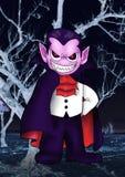 scarry vampyr arkivfoton