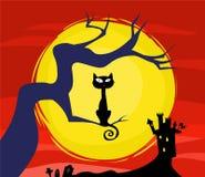 Scarry veille de la toussaint illustration libre de droits