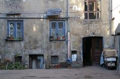 Scarsa casa Fotografie Stock Libere da Diritti