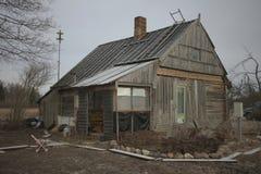Scarsa casa Fotografia Stock Libera da Diritti