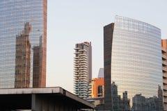 Scarse visibilità su Milano Fotografie Stock Libere da Diritti