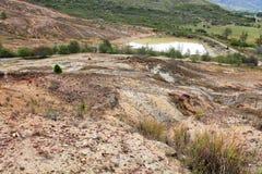 Scarsità di acqua e della siccità Fotografia Stock Libera da Diritti