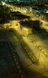 Scarso distretto a Montreal. fotografie stock