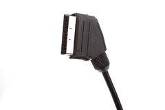 Scart cable stock photography