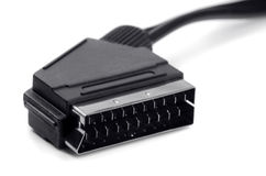 SCART Lead Royalty Free Stock Image