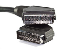 Scart Leads Stock Images