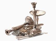 Scarto dell'argento sterlina Immagini Stock