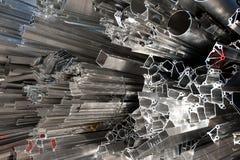 Scarto di alluminio per riciclare Fotografia Stock
