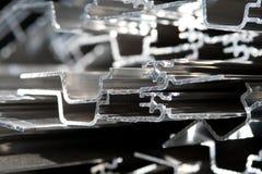 Scarto di alluminio per riciclare Immagini Stock Libere da Diritti