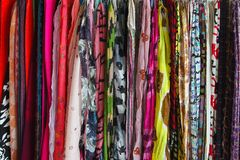 Scarves Royalty Free Stock Images