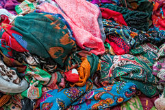 Scarves Stock Image