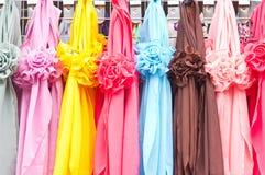 scarves Arkivfoto