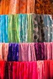 scarves Arkivfoton