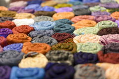 scarves Royaltyfri Fotografi
