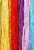 Scarves in bright colors Royalty Free Stock Photos