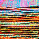 Scarves color Stock Photography