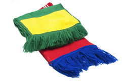 Scarves football Royalty Free Stock Photo