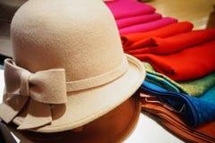 Scarves och hattar Royaltyfri Fotografi