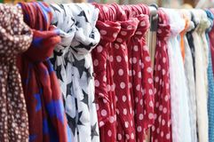 Scarves or scarfs Royalty Free Stock Image