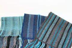 Scarves tecidos Imagens de Stock