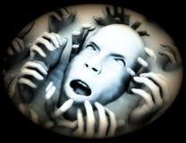 Scary κεφάλι 2 Στοκ εικόνες με δικαίωμα ελεύθερης χρήσης
