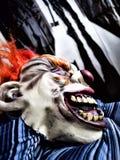 Scary κλόουν Στοκ Φωτογραφίες