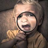 Scary παιδί στοκ εικόνες με δικαίωμα ελεύθερης χρήσης