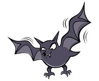 Scary bat Royalty Free Stock Image