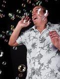 Scary bubbles Royalty Free Stock Photo