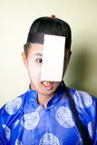 Scary chinese zombie Royalty Free Stock Images