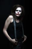 Scary clown Stock Photo