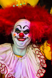 Scary clown doll face. Royalty Free Stock Photo