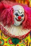 Scary clown doll face. Stock Images