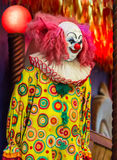 Scary clown doll. Royalty Free Stock Photos