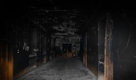 Scary corridor Stock Photo