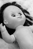 Scary doll Stock Images