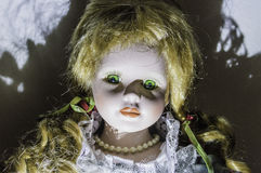Scary doll Royalty Free Stock Images