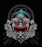 Evil mask Royalty Free Stock Image