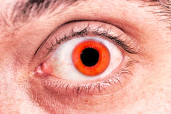 Scary eye Royalty Free Stock Image