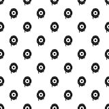 Scary eyeball pattern vector Stock Images