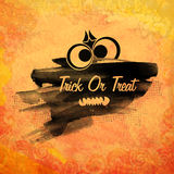 Scary eyes for Halloween Party celebration. Royalty Free Stock Photo