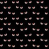 Scary eyes seamless pattern Stock Photo