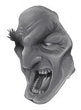 Scary face Stock Photo