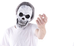 Scary face Stock Photography