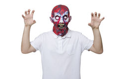 Scary face Royalty Free Stock Image