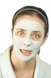 Scary face mask Royalty Free Stock Photos