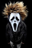 Scary face mask Stock Image